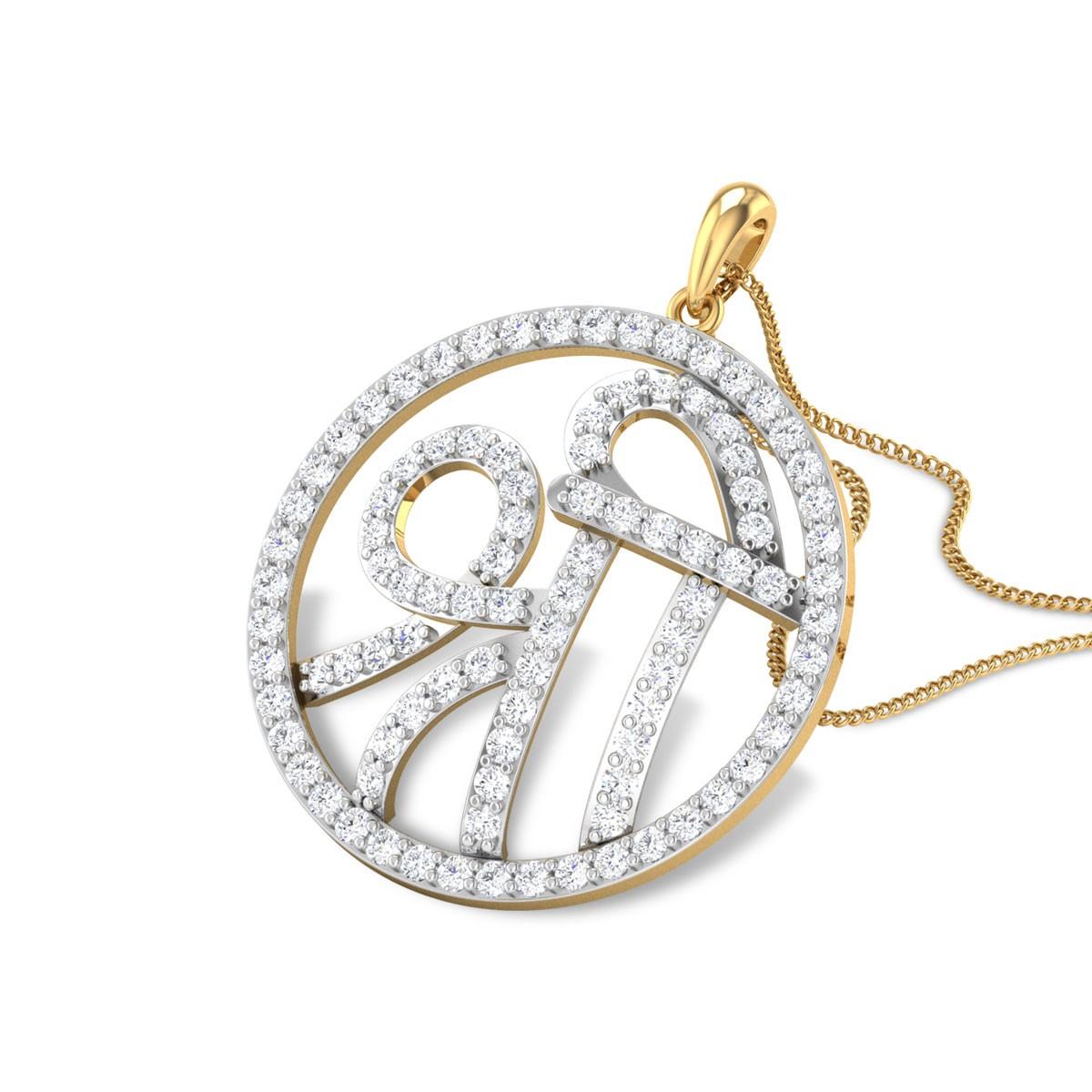 Flynn Shree Diamond Pendant