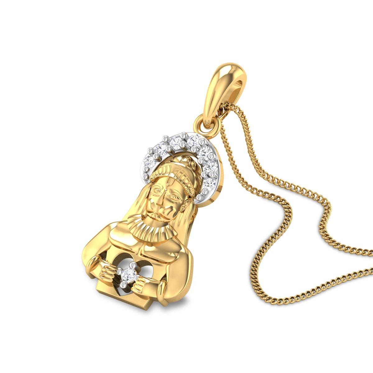Anjaniputra Diamond Pendant