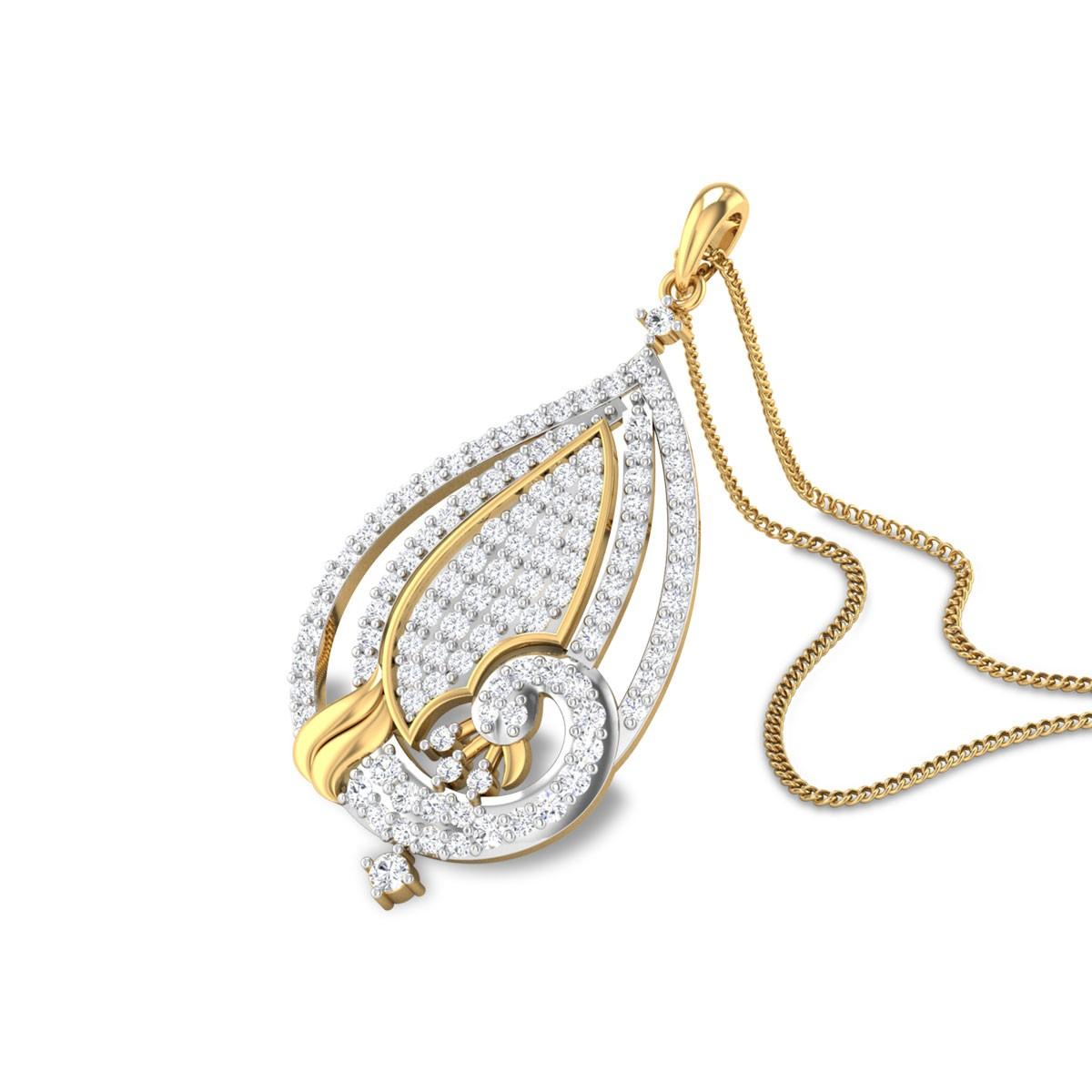 Kieran Diamond Peacock Pendant