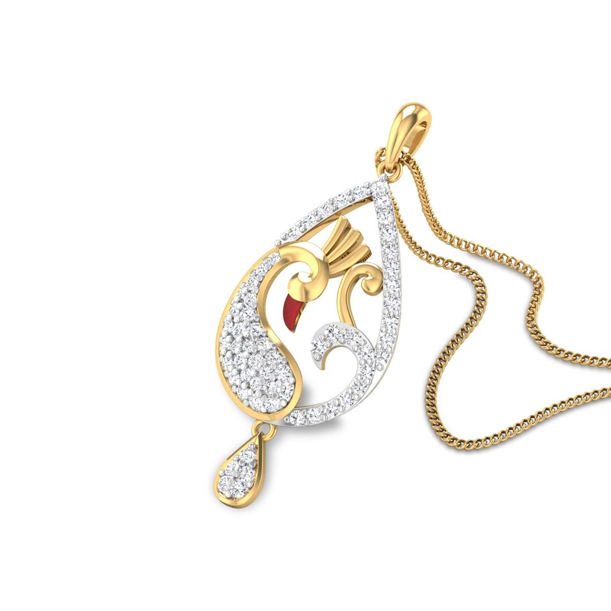 Hamlin Mayurika Diamond Pendant