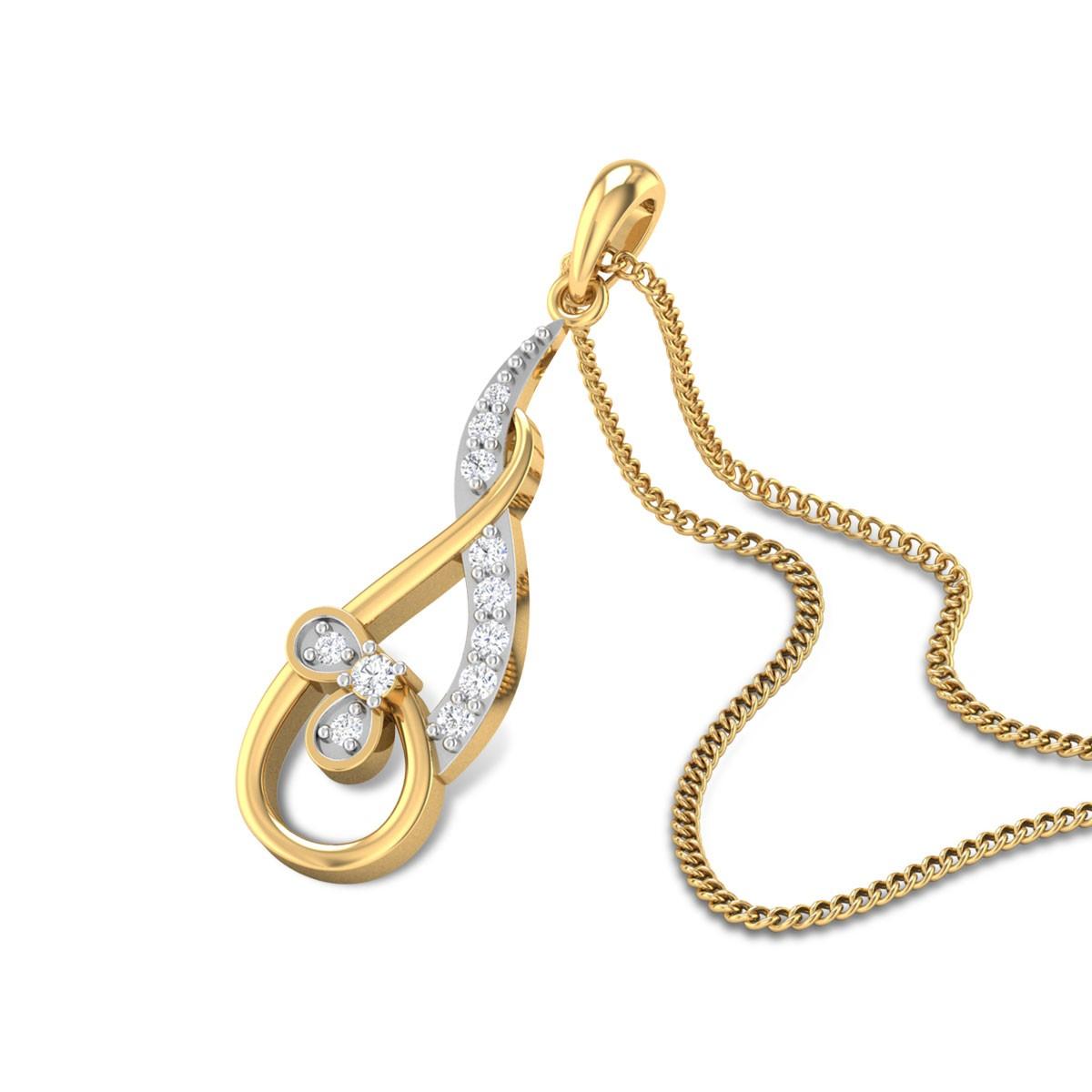 Tyree Diamond Pendant