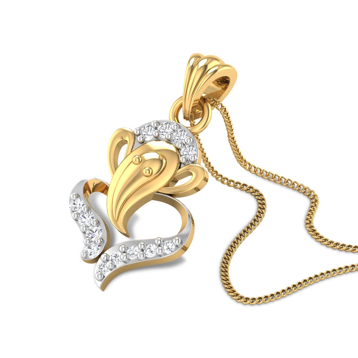 Gaurisuta Diamond Pendant