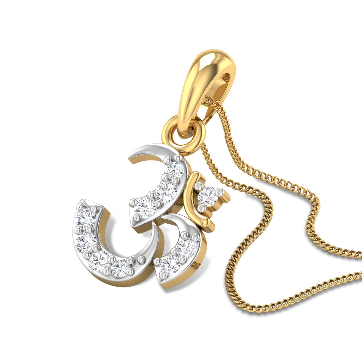 Ignacio Om Diamond Pendant