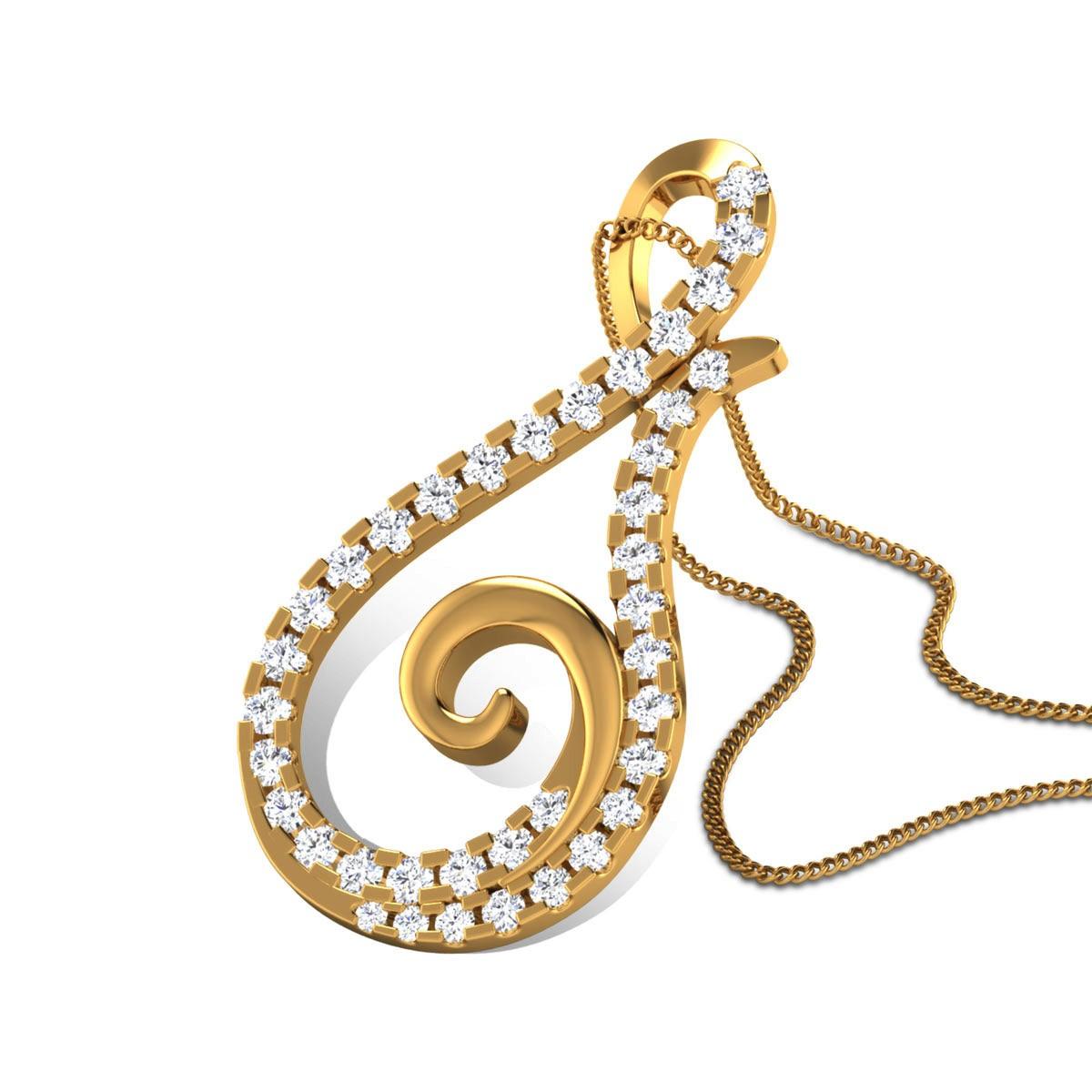 Aaheli Diamond Pendant