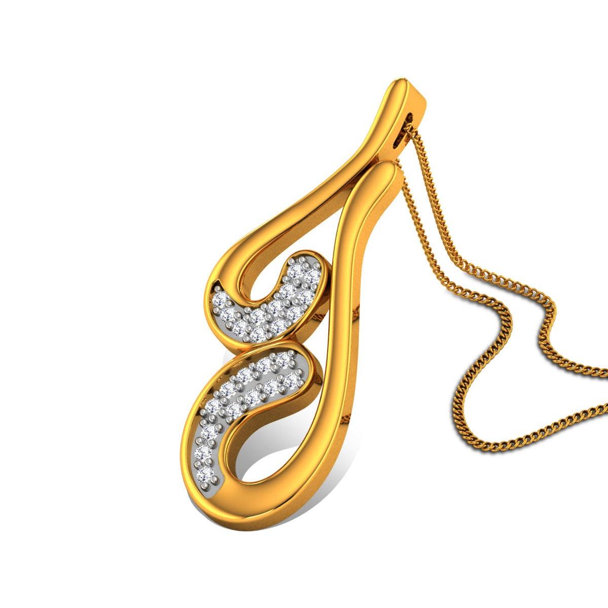 Abezag Diamond Pendant