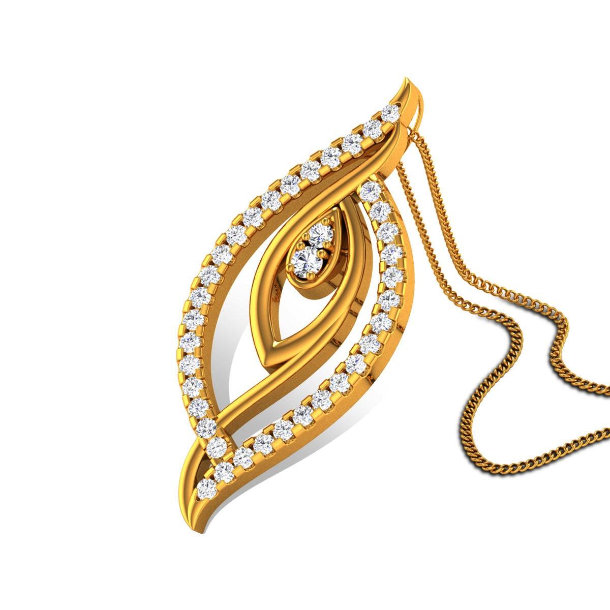 Akrithi Diamond Pendant