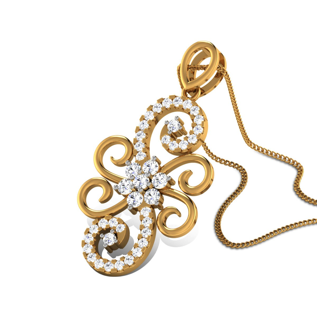 Atulya Diamond Pendant