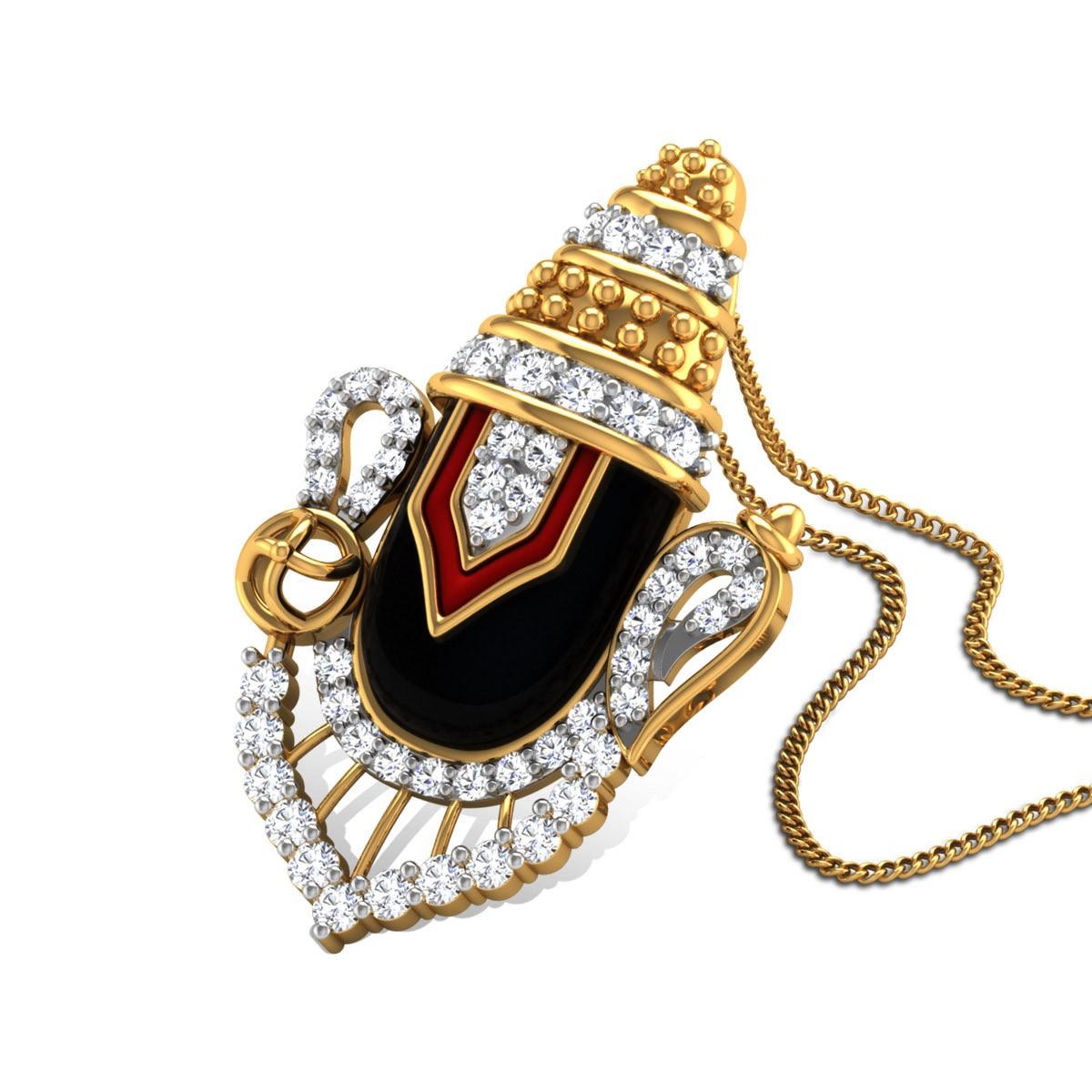 Dwarkapati Diamond Pendant