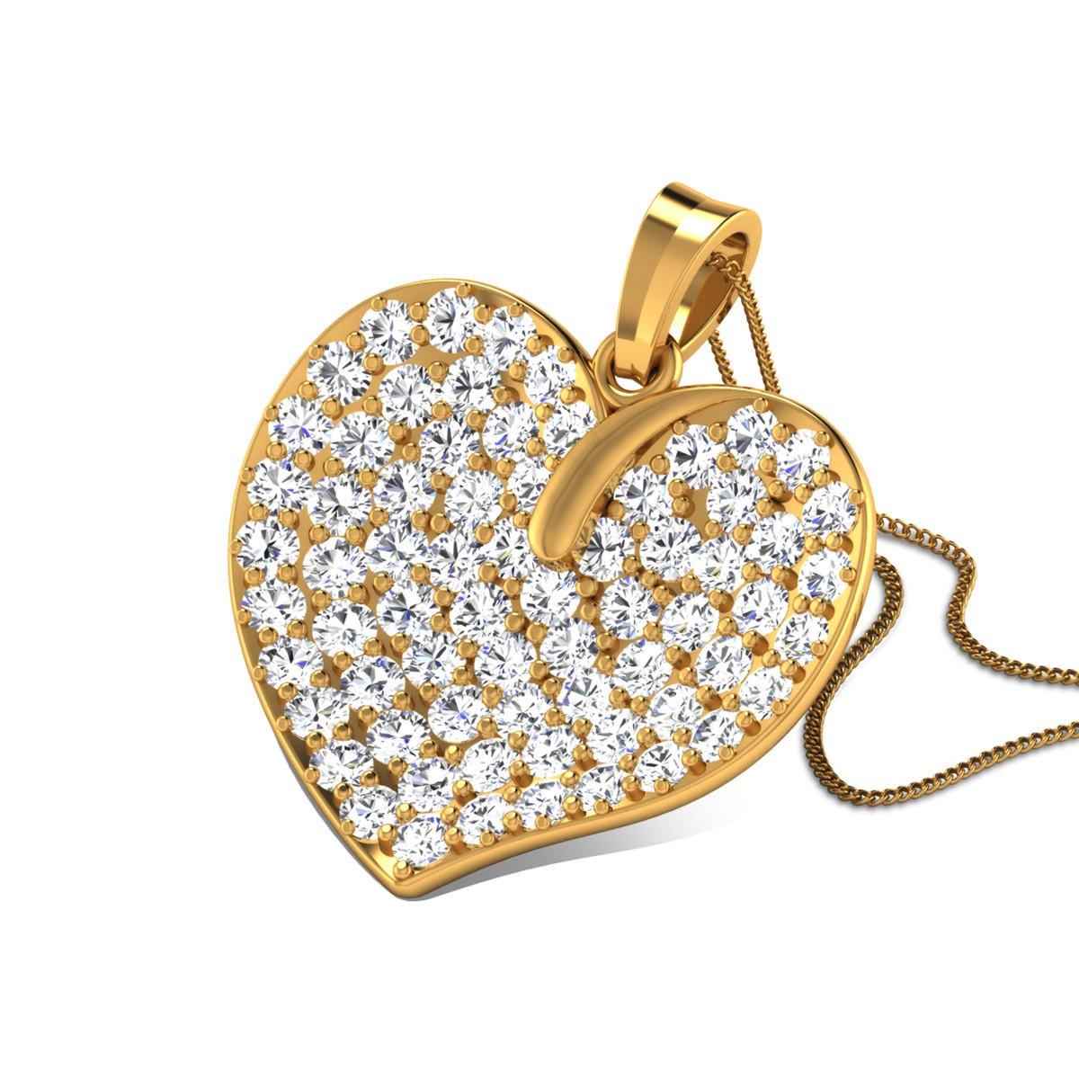 Badri Diamond Pendant