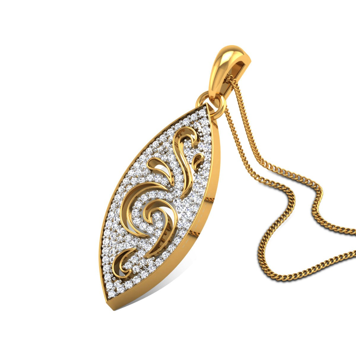 Chinmayi Diamond Pendant