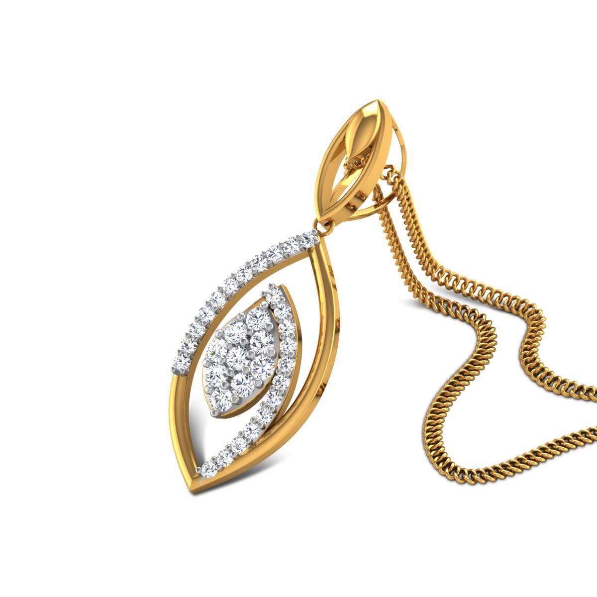 Deanna Diamond Pendant