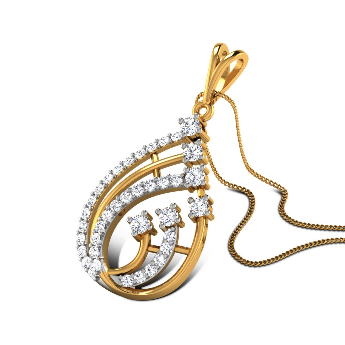 Monserrat Diamond Pendant