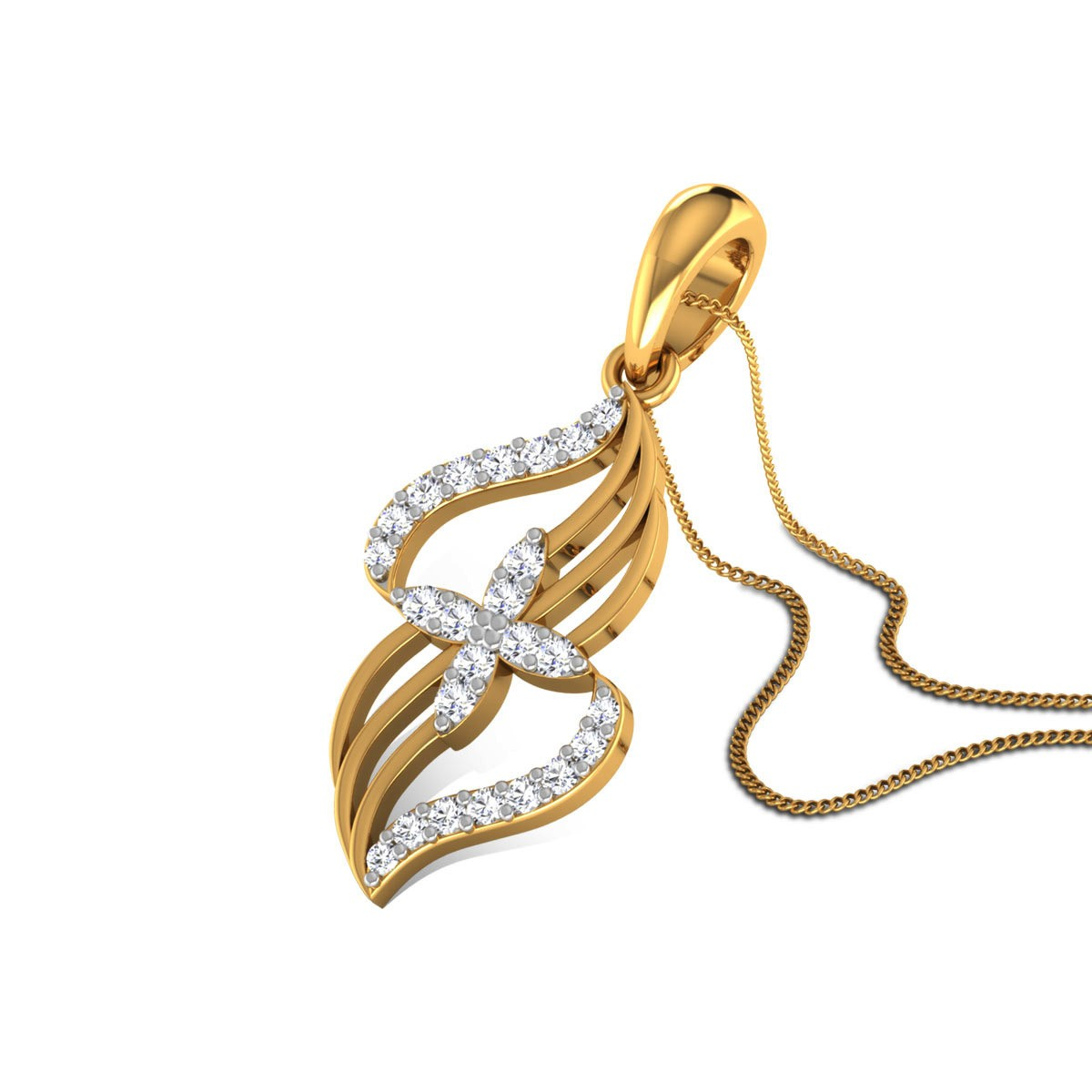 Bushra Diamond Pendant