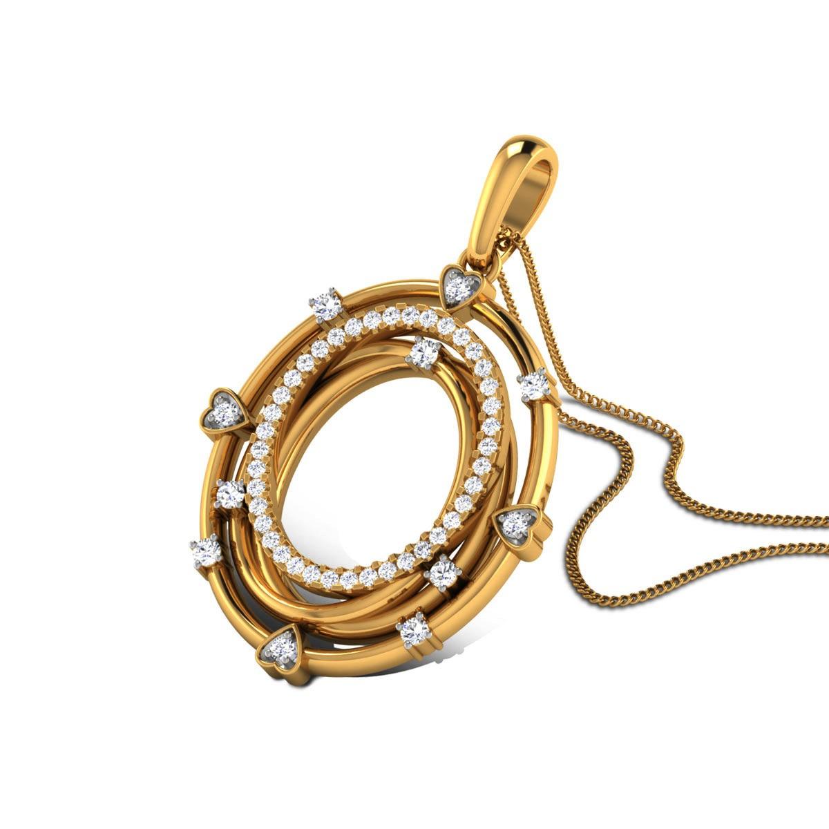 Abhidya Diamond Pendant