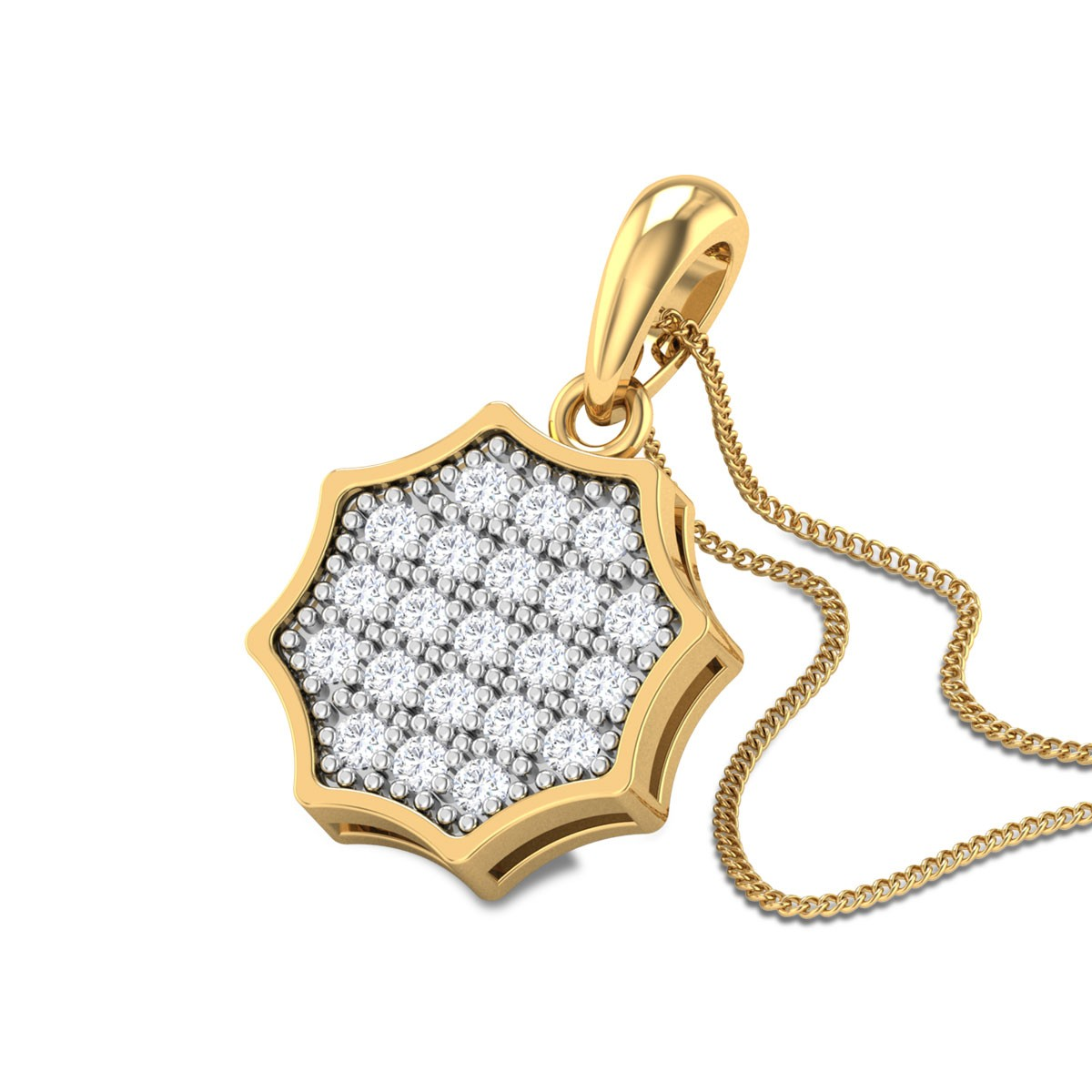 Raviva Diamond Pendant