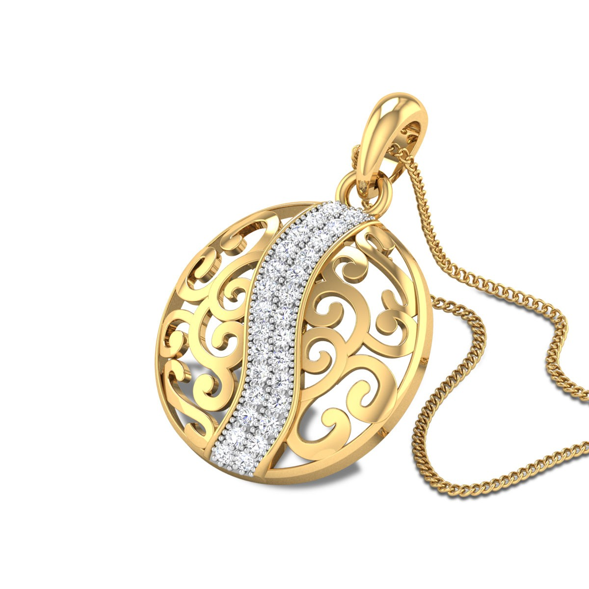 Panchita Diamond Pendant
