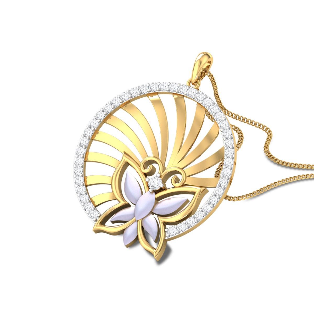 Jeneane Butterfly Diamond Pendant