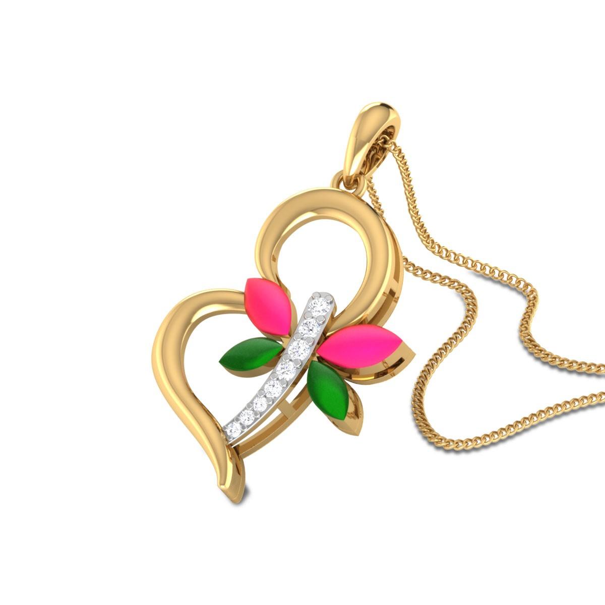 Jeanyne Butterfly Diamond Pendant