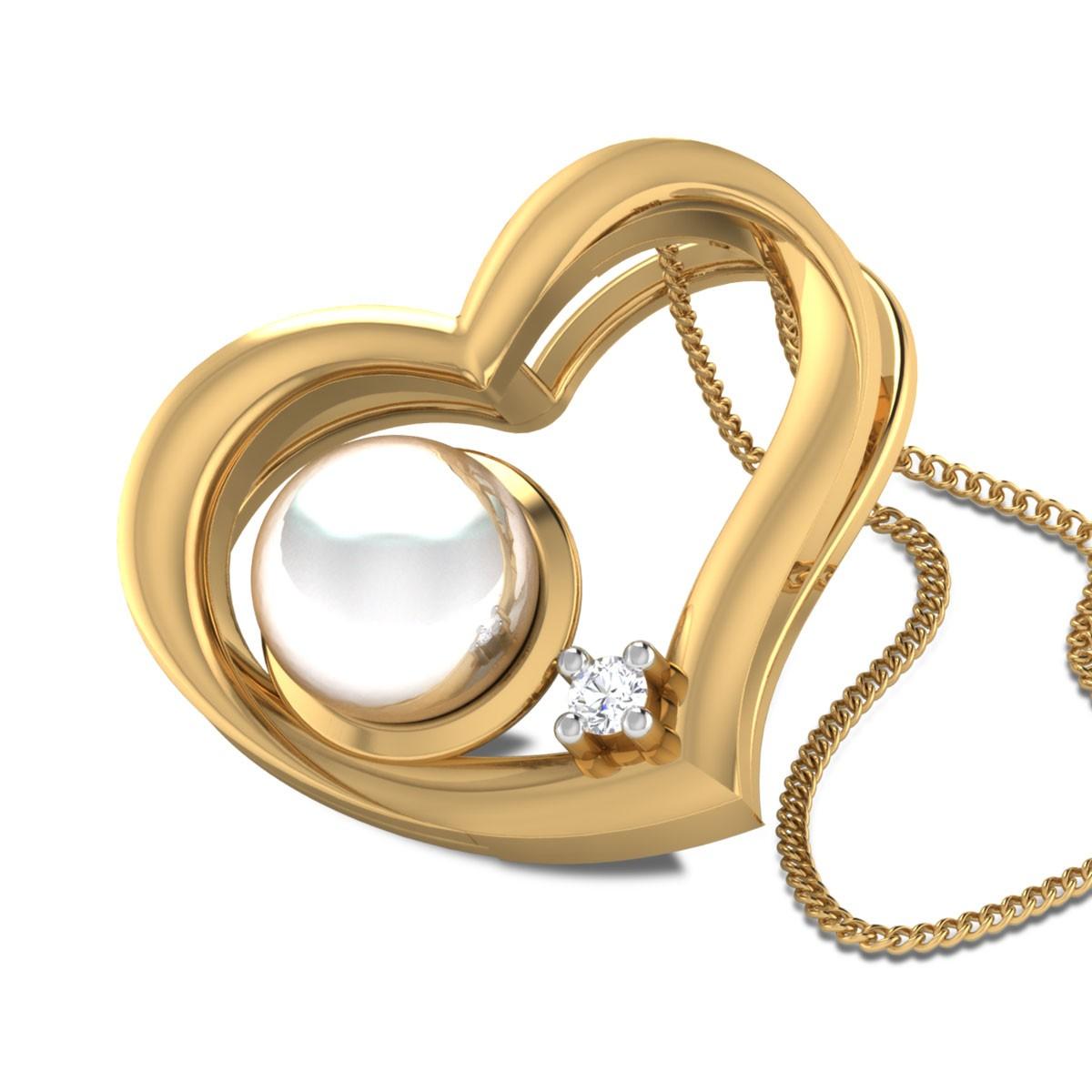 Haydrian Heart Diamond Pendant