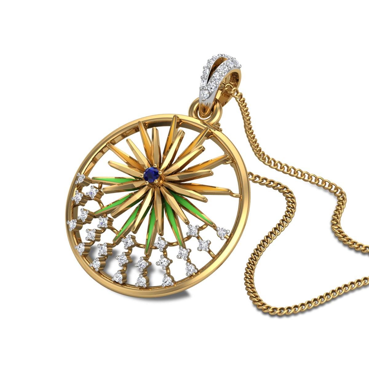 Aakanksha Diamond Pendant