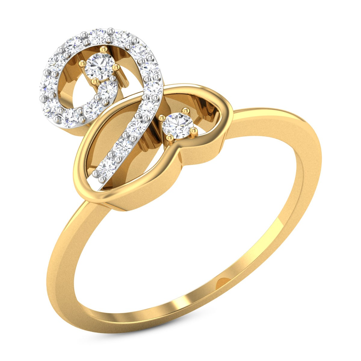 Buy Louise Diamond Ring in 2.01 Grams Gold Online