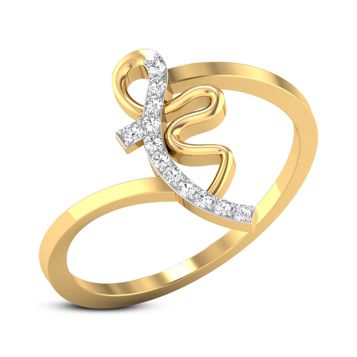 Buy Lisa Diamond Ring in 2.24 Grams Gold Online
