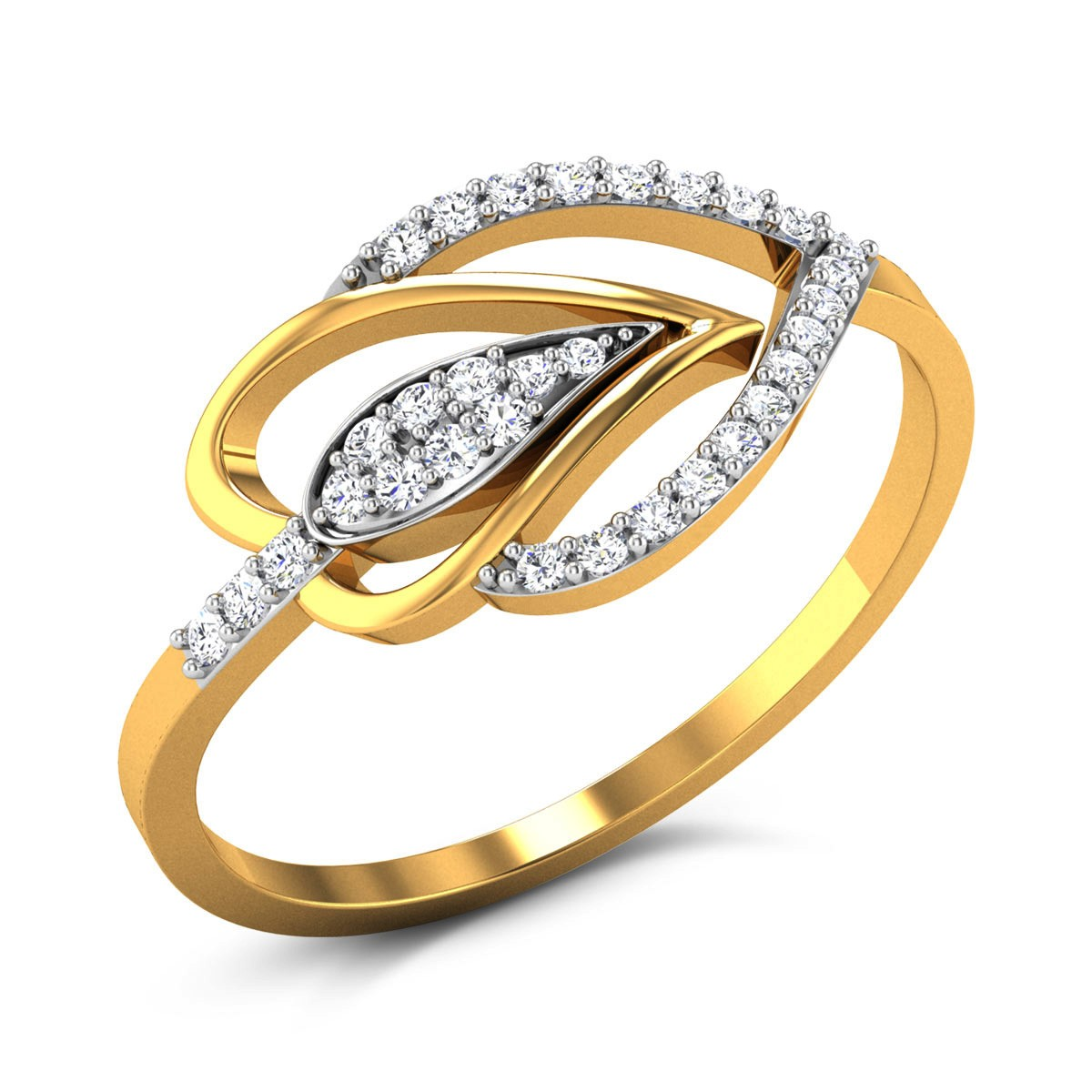 Zephyr Diamond Ring