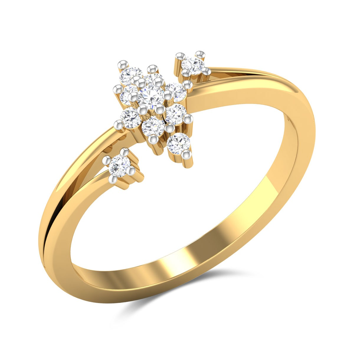 Bali Diamond Ring