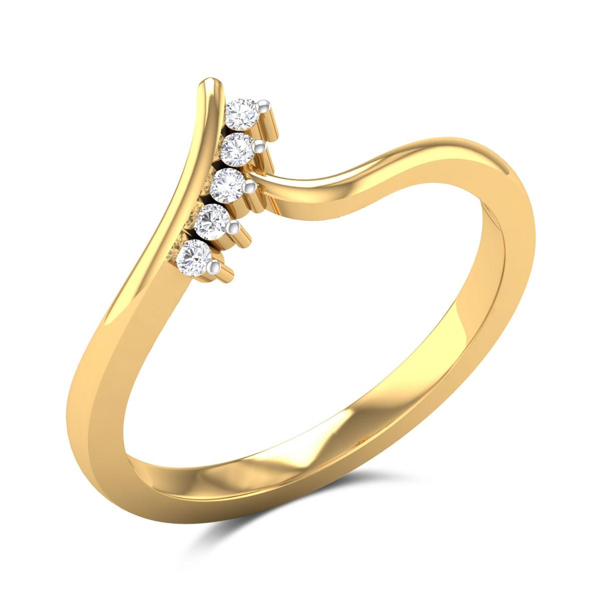 Bergamot Diamond Ring