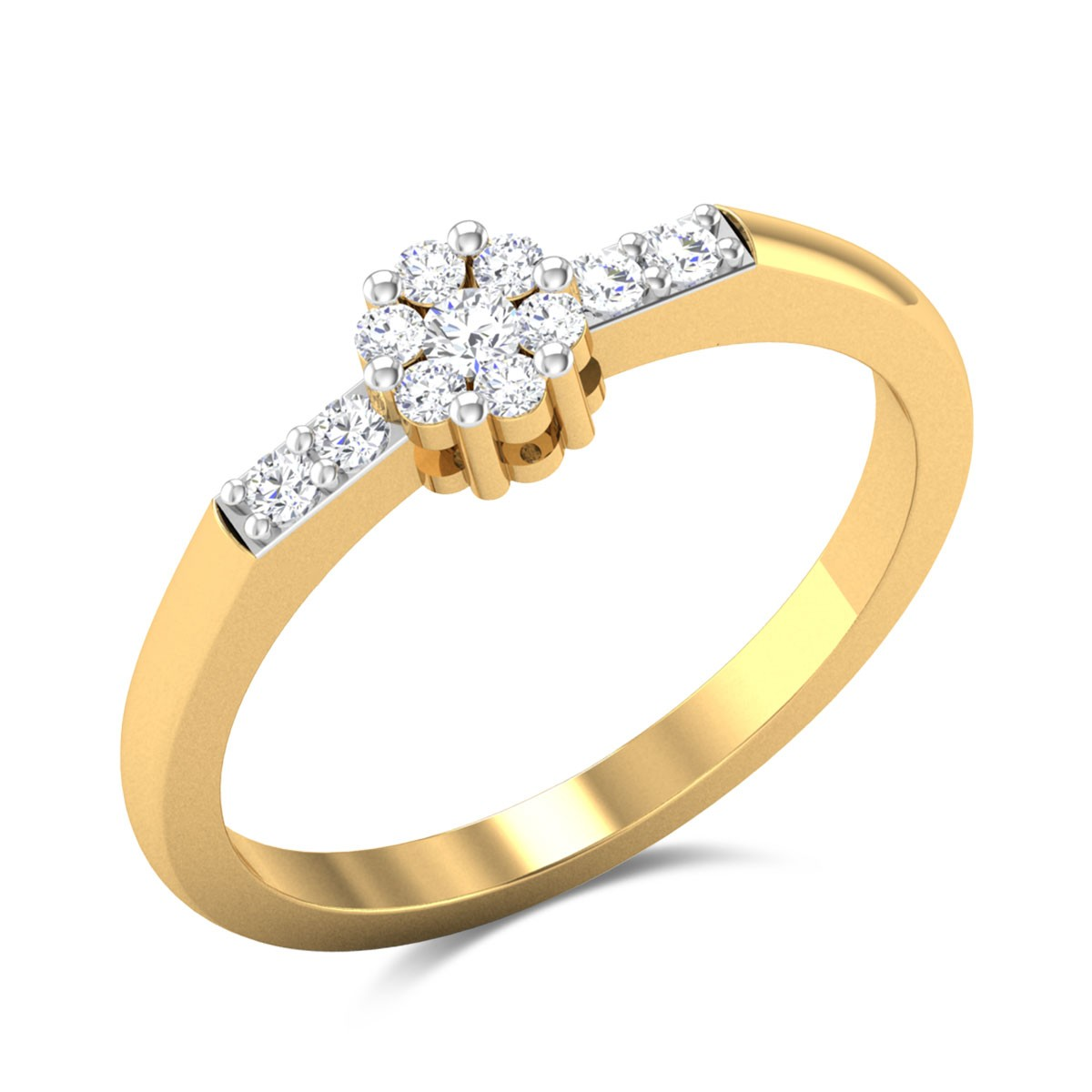 Buy Peony Diamond Ring Online