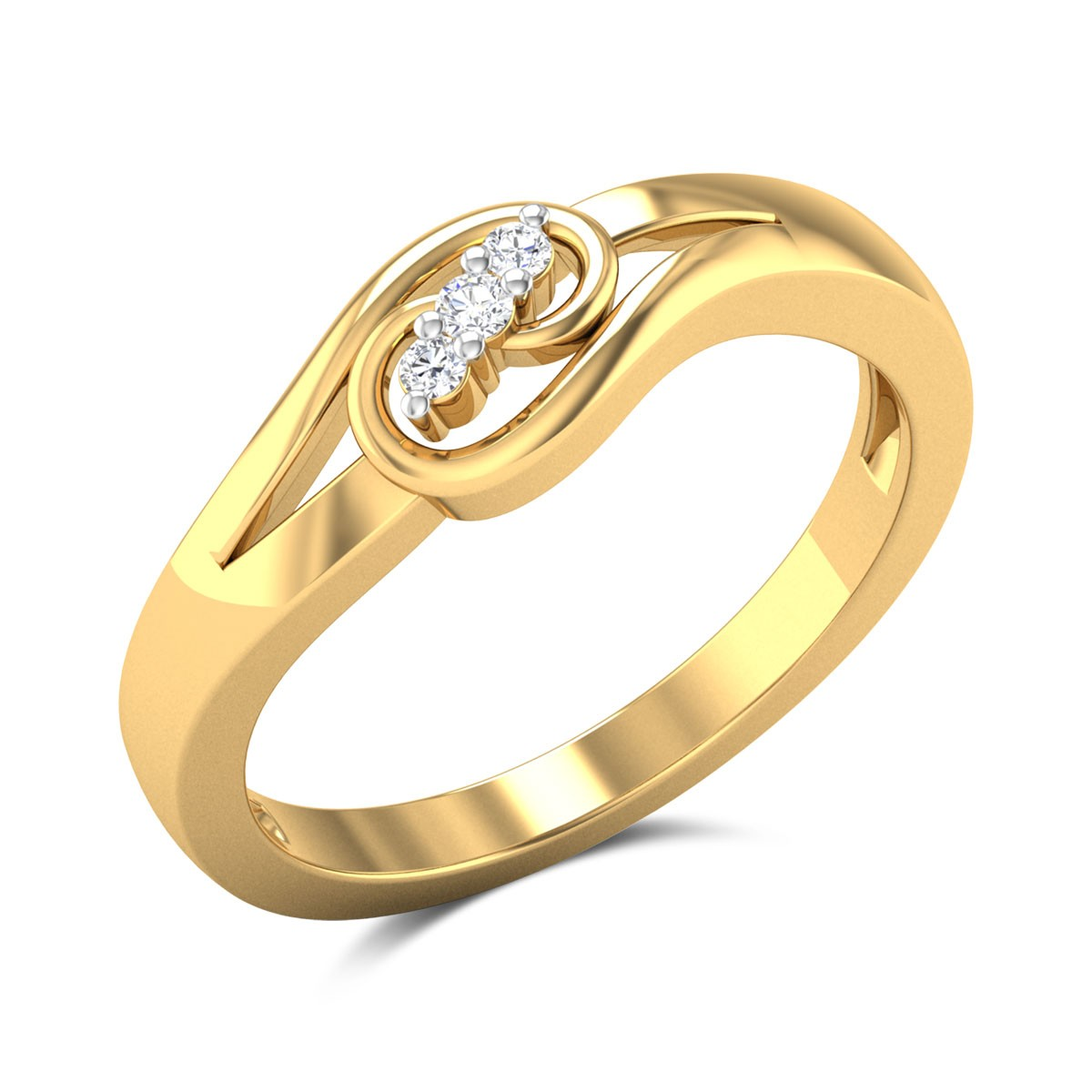 Suncrisp Smile Diamond Ring