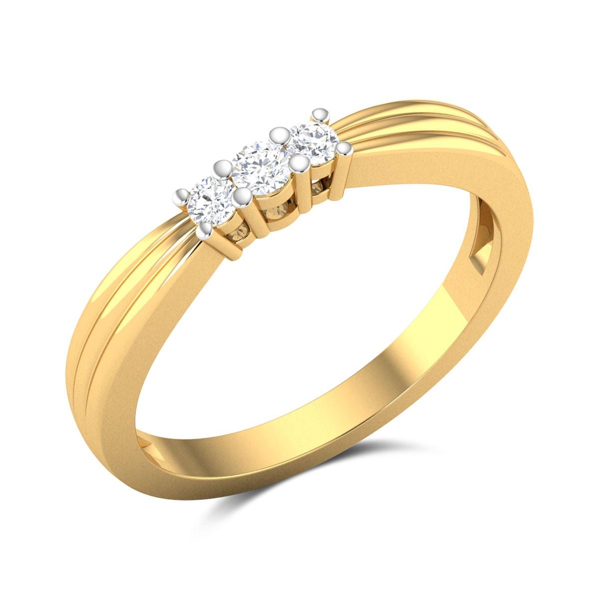 Amber Shine Diamond Ring