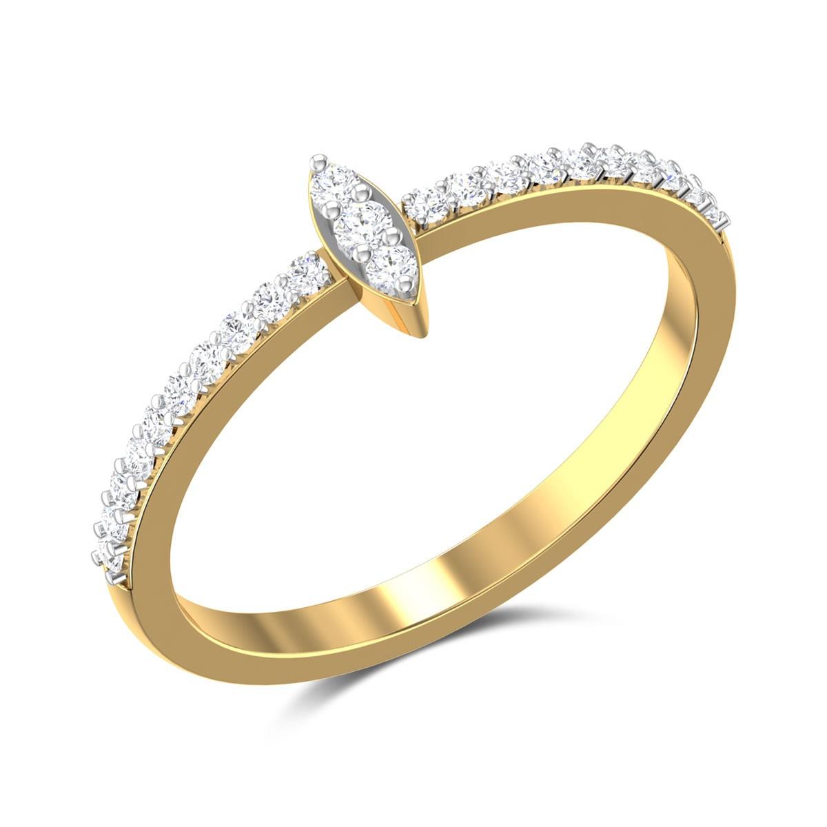 Anne Diamond Ring