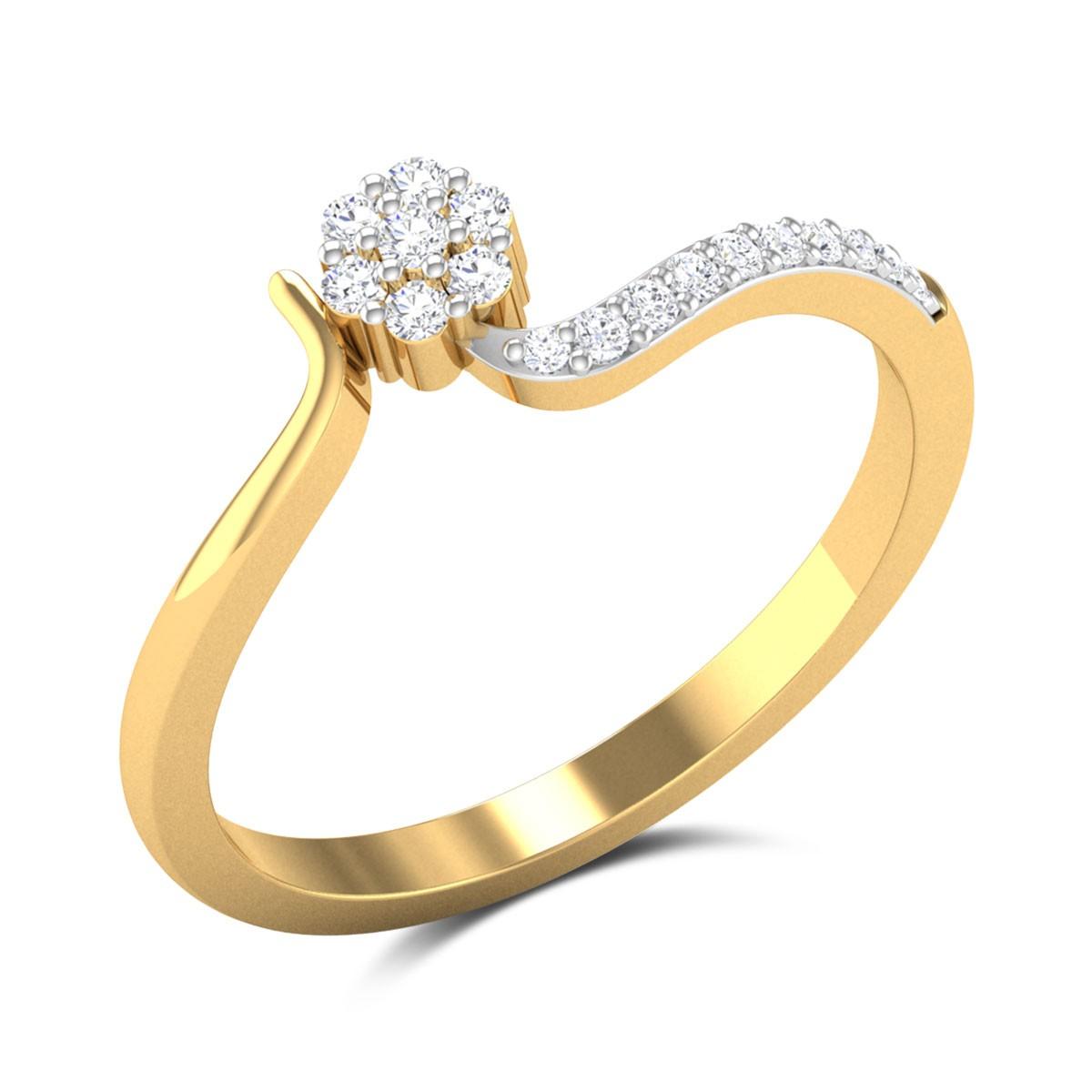 Amy Diamond Ring