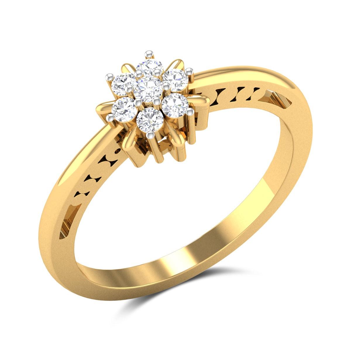 Caitlyn Diamond Ring