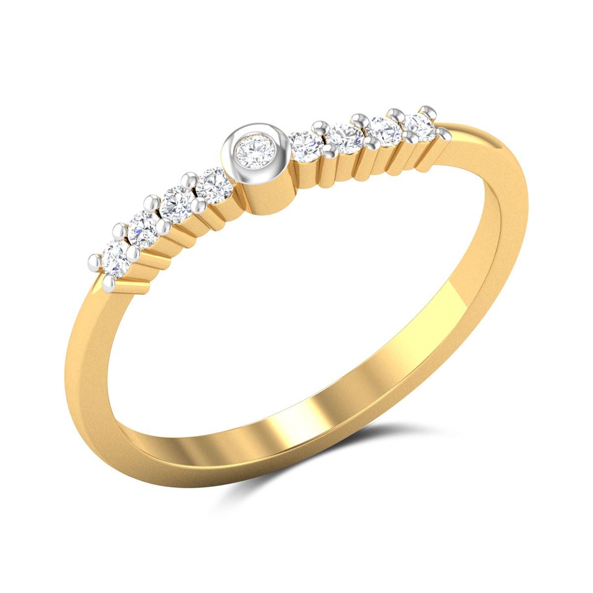 Lavena Diamond Ring