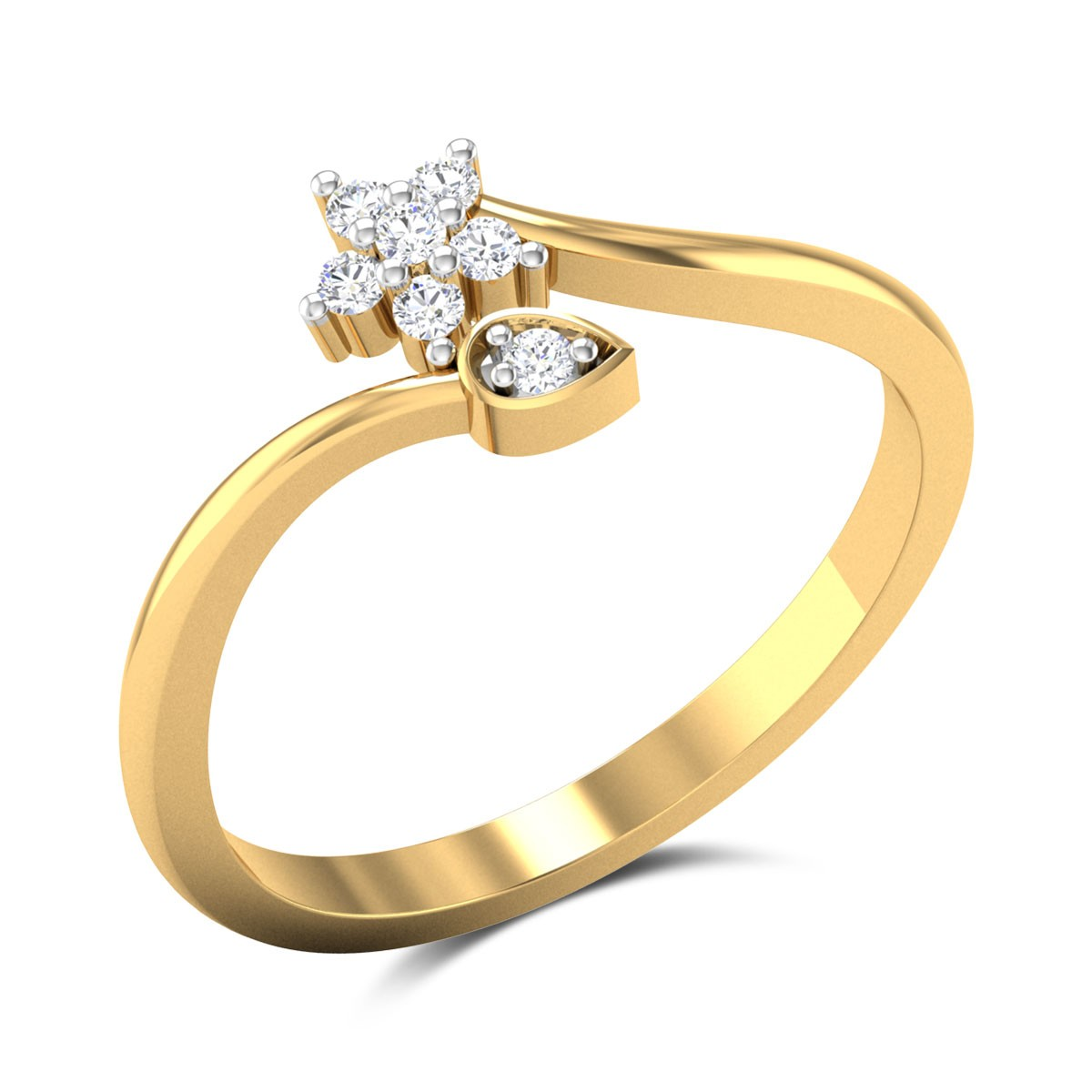 Viola Diamond Ring