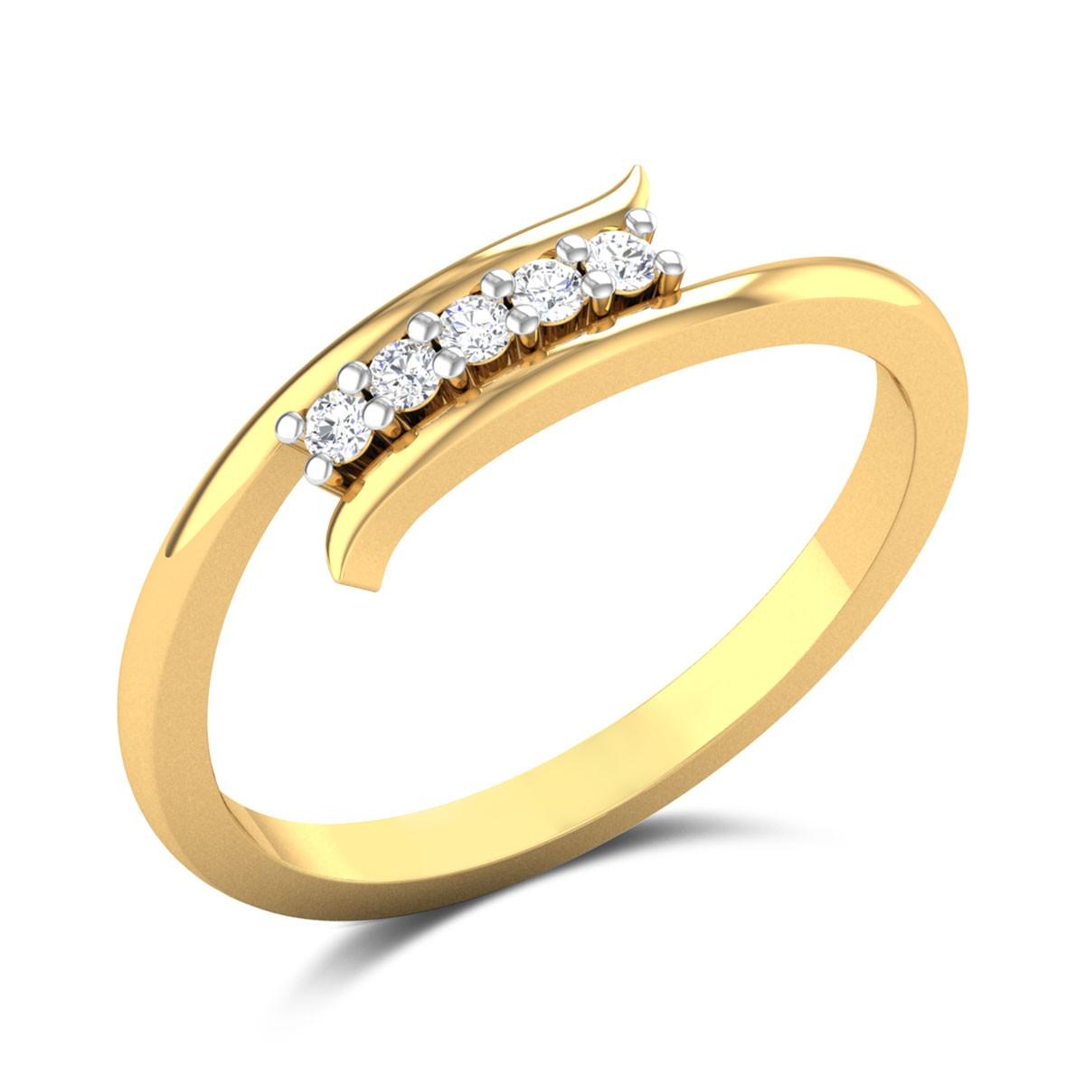 Mazie Diamond Ring