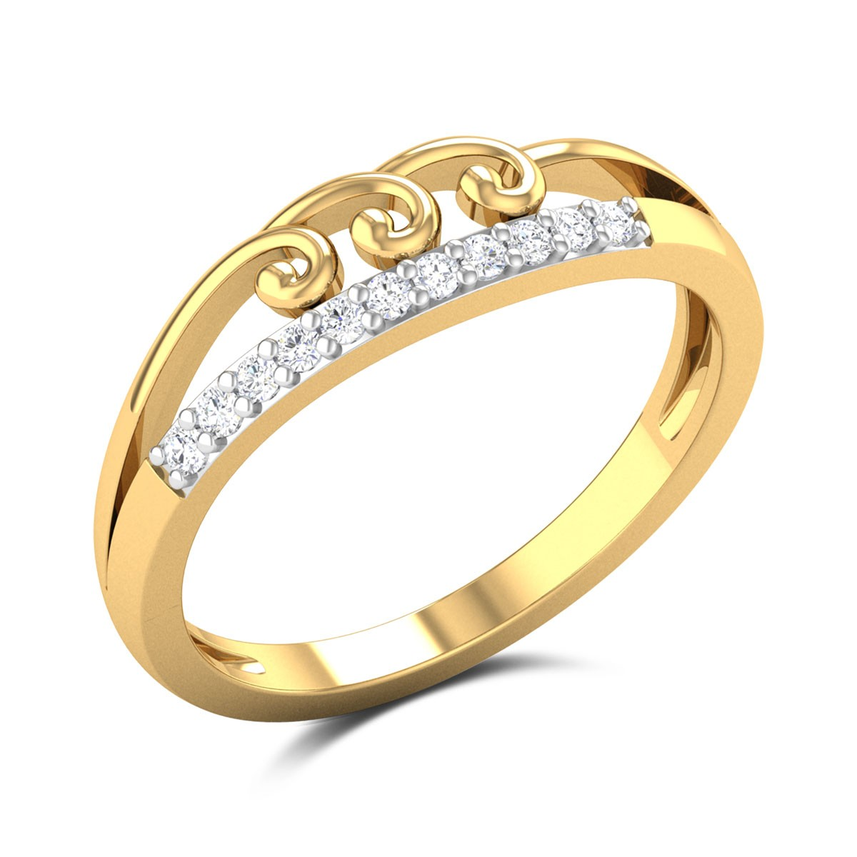 Quinn Diamond Ring