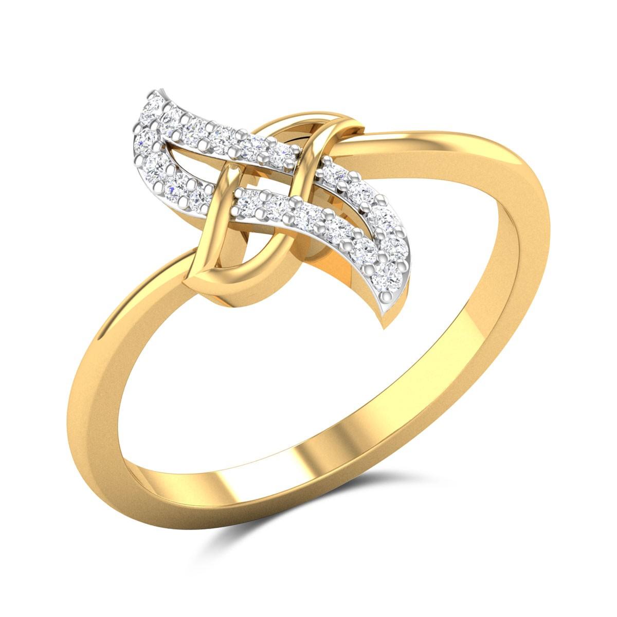Evangiline Diamond Ring