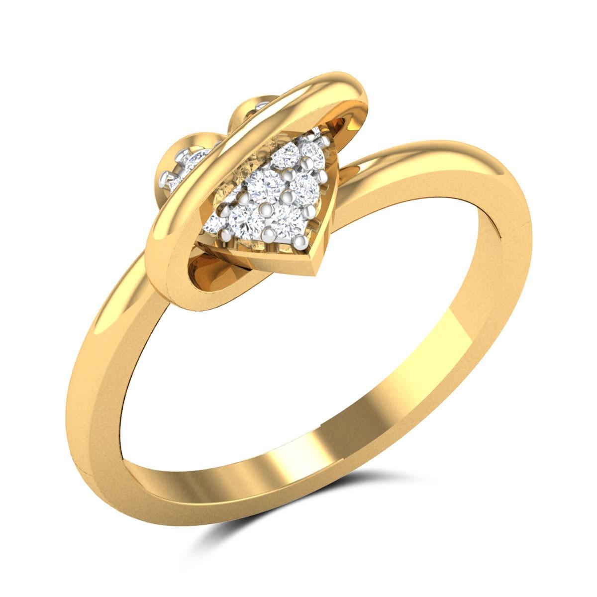 Aakruthi Heart Struck Ring