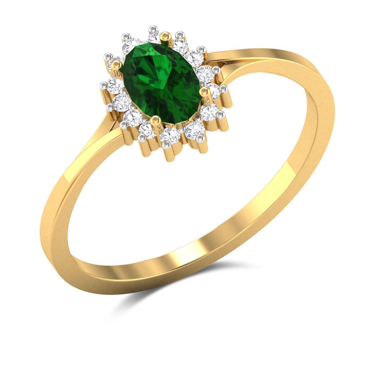 Gentle Joy Diamond Ring