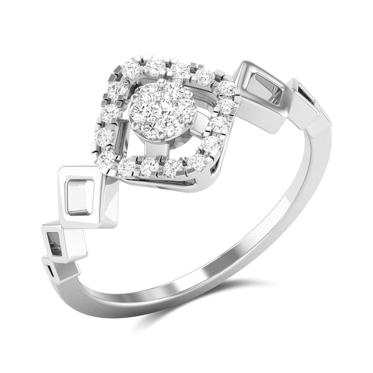 Tavern Love Diamond Ring