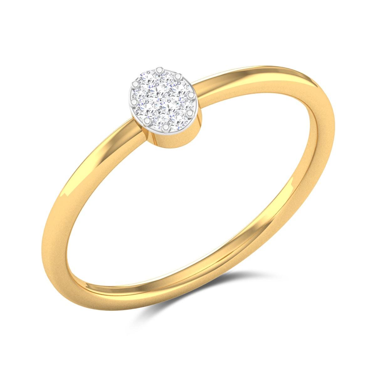 Jersey Eye Diamond Ring