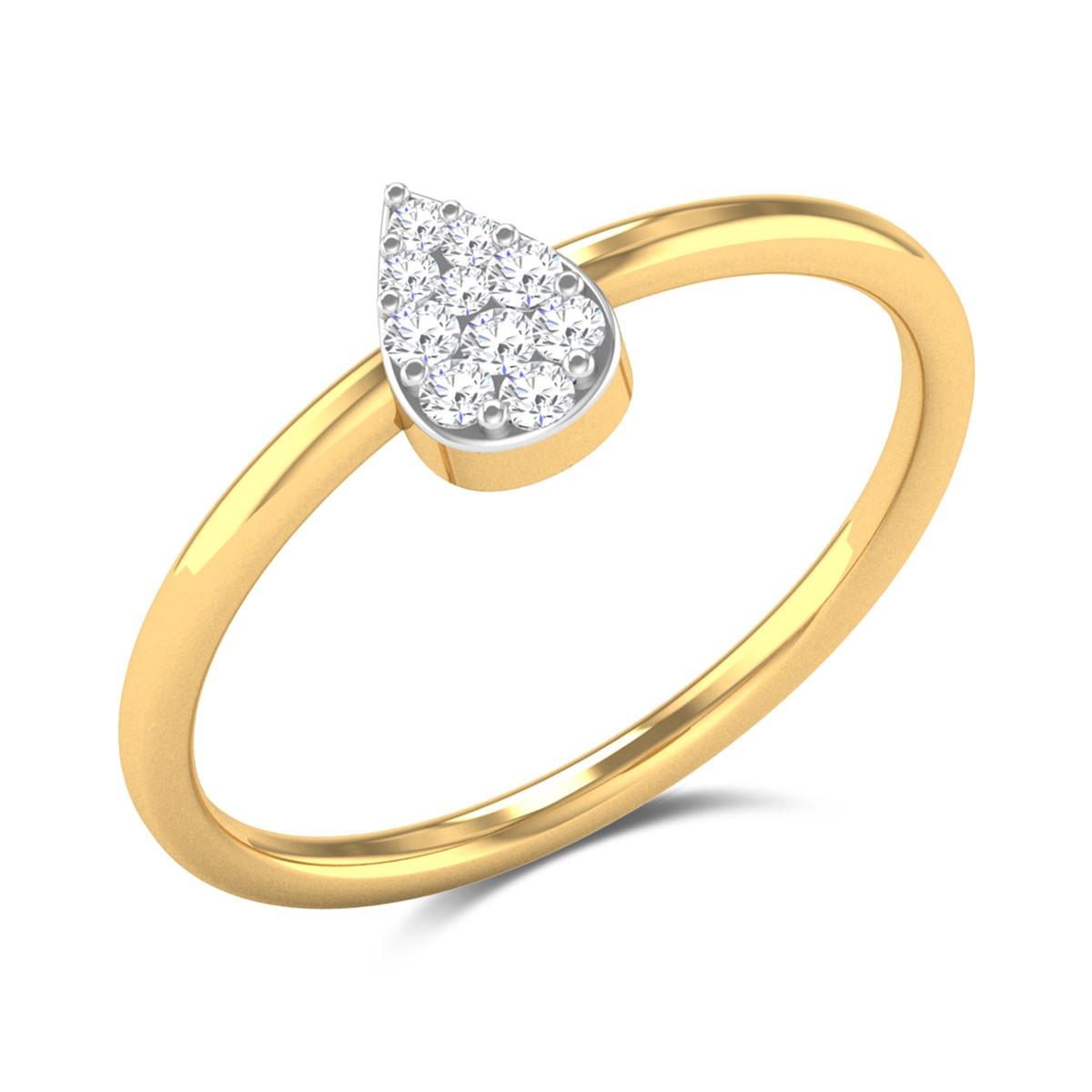 Strawberry Fields Diamond Ring
