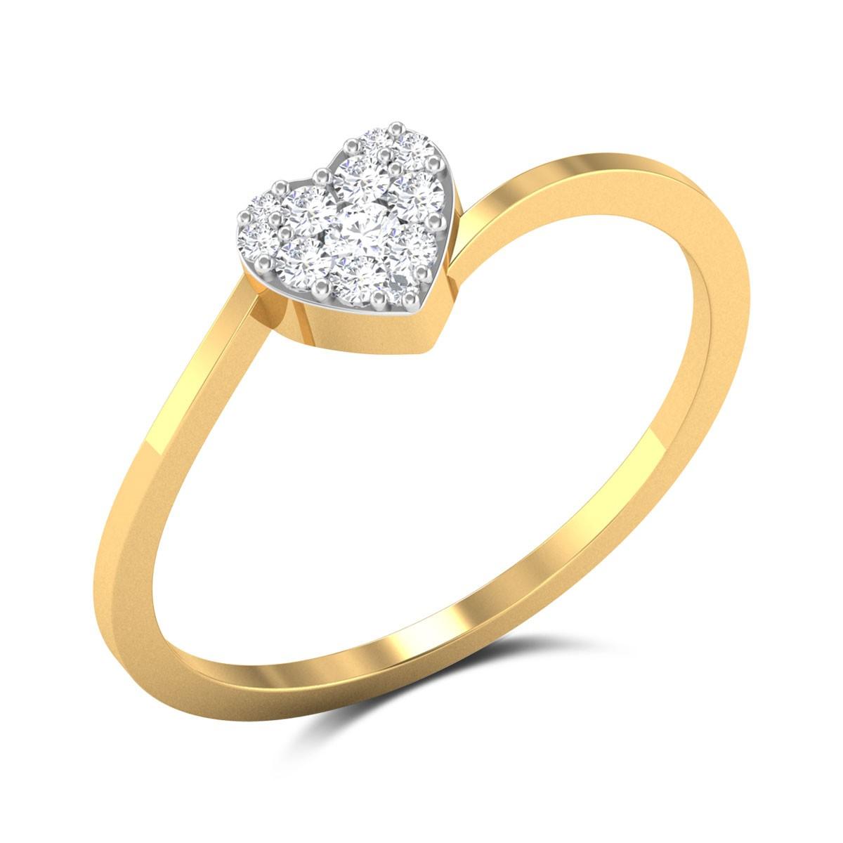 Rockfeller Love Diamond Ring