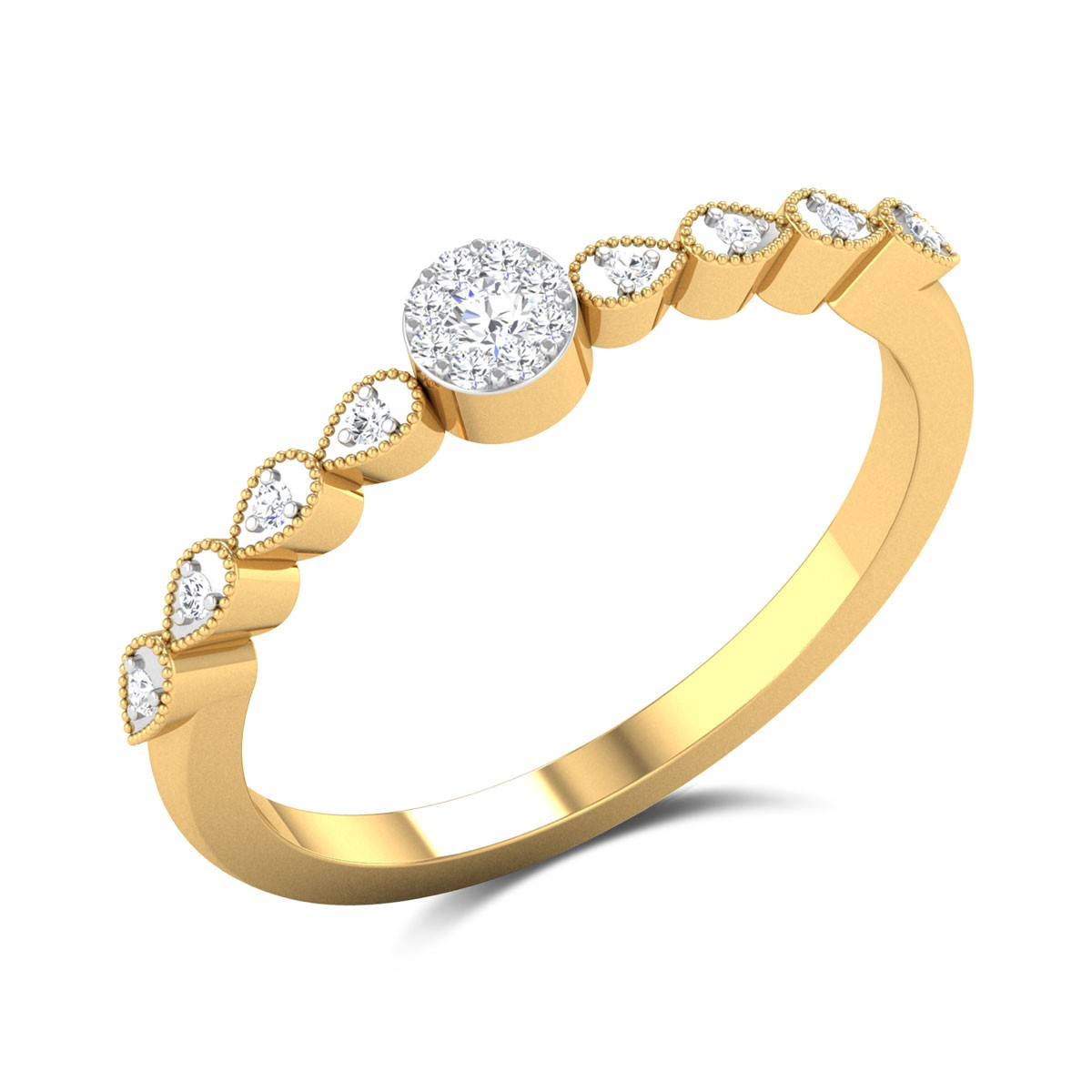 Liberty Diamond Ring