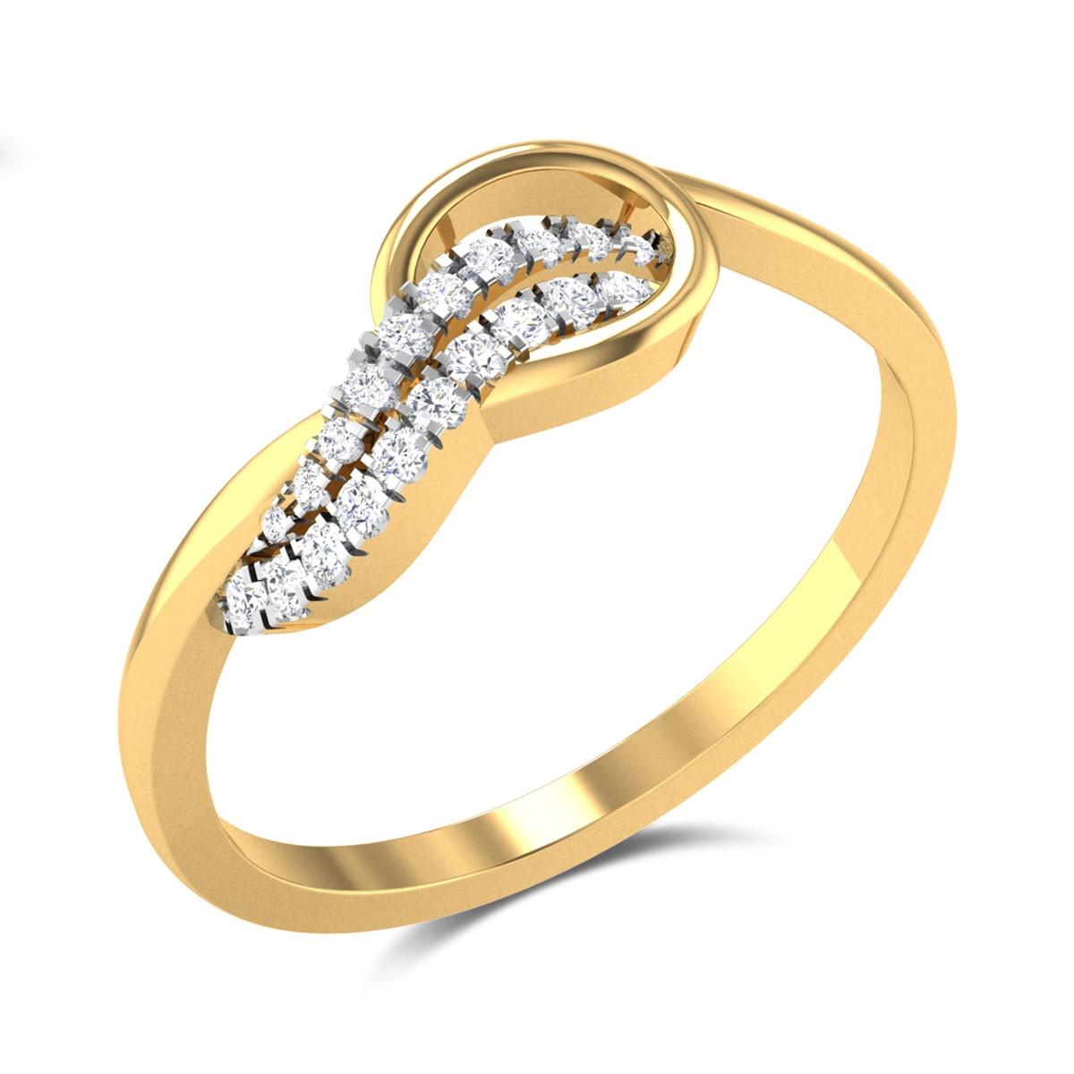 Love Ballet Diamond Ring