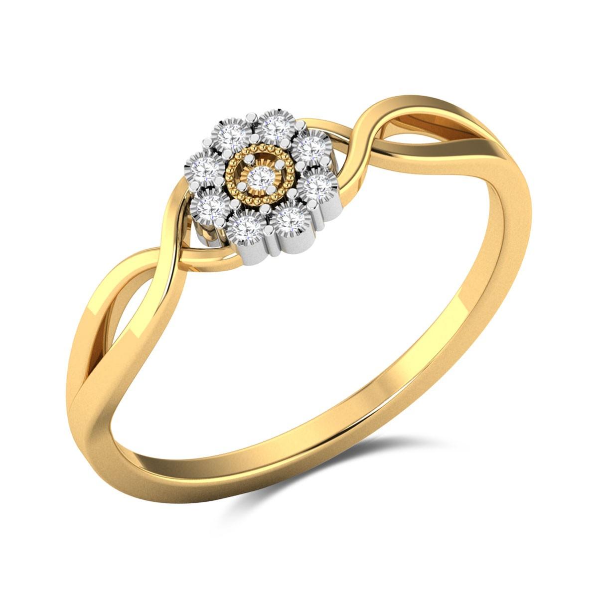 Joie de vivre Diamond Ring