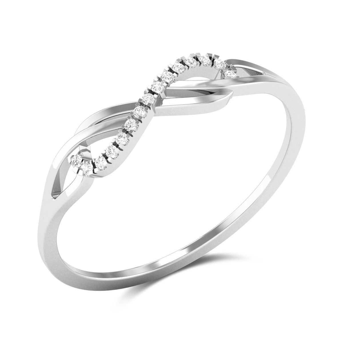 Ombre Love Diamond Ring